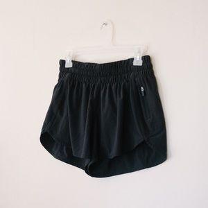 Lululemon athletica Black Tracker Athletic Short V